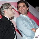 X-Factor Morgan Mika abito Walter Van Beirendonck scarpe Louboutin