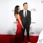 Megan Fox Ferrari abito Versace clutch Edie Parker 4
