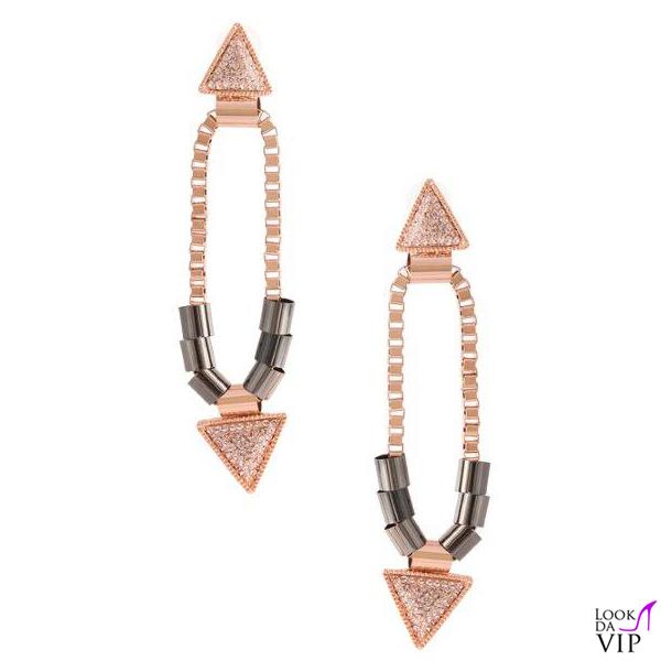 orecchini Luxuryfashion Jewels Long Tribal