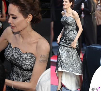 Angelina Jolie Unbroken abito Gucci Premiere