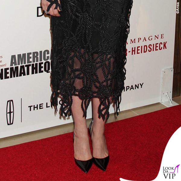 Anne Hatheway American Cinematheque Award abito Christopher Kane scarpe Louboutin Iriza 3