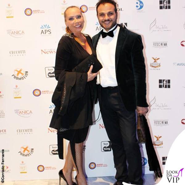 Barbara De Rossi abito Gai Mattiolo scarpe Loriblu Gennaro Marchese abito American Apparel scarpe Loriblu 3