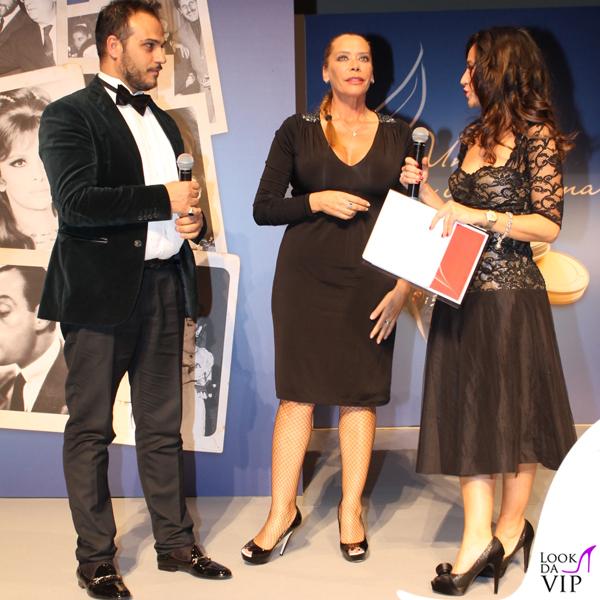 Barbara De Rossi abito Gai Mattiolo scarpe Loriblu Gennaro Marchese abito American Apparel scarpe Loriblu 5