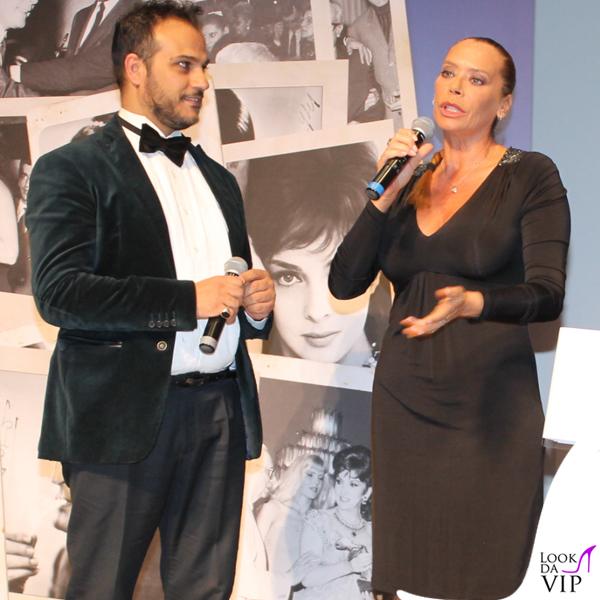 Barbara De Rossi abito Gai Mattiolo scarpe Loriblu Gennaro Marchese abito American Apparel scarpe Loriblu 6