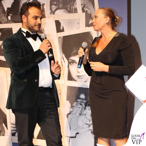 Barbara De Rossi abito Gai Mattiolo scarpe Loriblu Gennaro Marchese abito American Apparel scarpe Loriblu 7