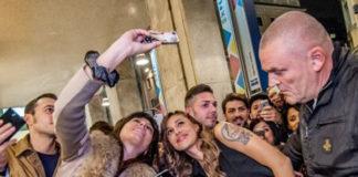 Belen Follow Me Night Stroili Milano top e pantaloni Byblos scarpe Casadei gioielli 2Jewels 15