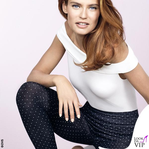 d7e5aa548397 Bianca Balti leggings OVS - Look da Vip