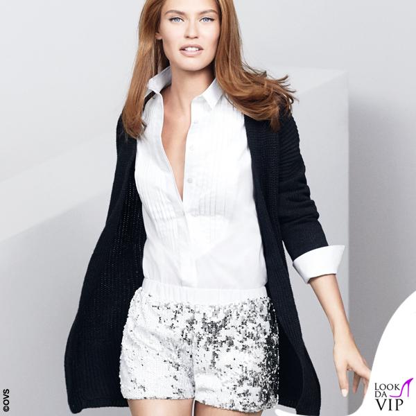 31f7a7474300 Bianca Balti shorts OVS - Look da Vip