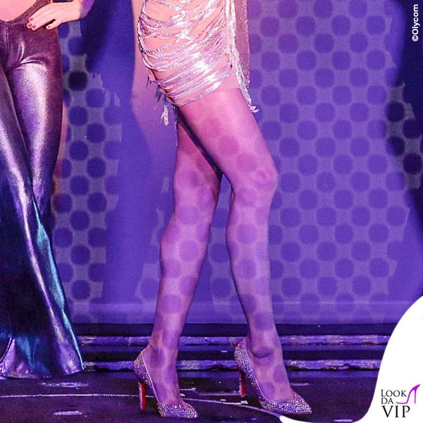 Conchita Wurst Crazy Horse abito Jean Paul Gaultier scarpe Louboutin 8