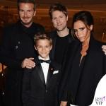 David Romeo Beckham Christofer Bailey Victoria Beckham Burberry Flagship