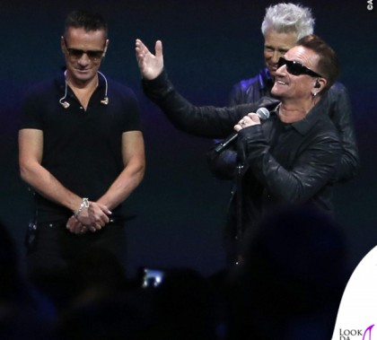 Flint Center for Performing Arts U2 Bono Vox occhiali Maui Jim Dorado 1