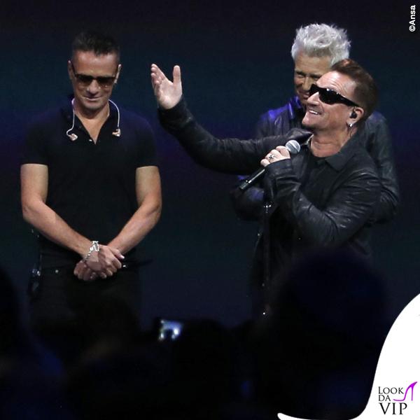 Flint Center for Performing Arts U2 Bono Vox occhiali Maui Jim Dorado 1