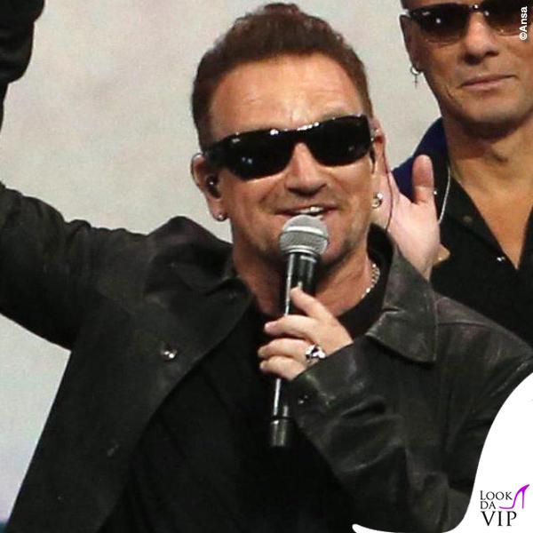 Flint Center for Performing Arts U2 Bono Vox occhiali Maui Jim Dorado 5