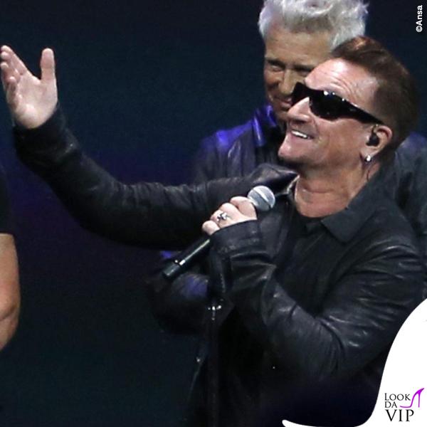 Flint Center for Performing Arts U2 Bono Vox occhiali Maui Jim Dorado 6