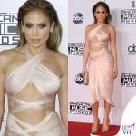Jennifer Lopez AMA14 abito Reem Acra scarpe Louboutin gioielli Norman Silverman Diamonds 2