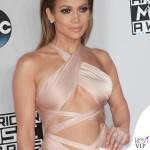 Jennifer Lopez AMA14 abito Reem Acra scarpe Louboutin gioielli Norman Silverman Diamonds 3