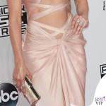 Jennifer Lopez AMA14 abito Reem Acra scarpe Louboutin gioielli Norman Silverman Diamonds 4