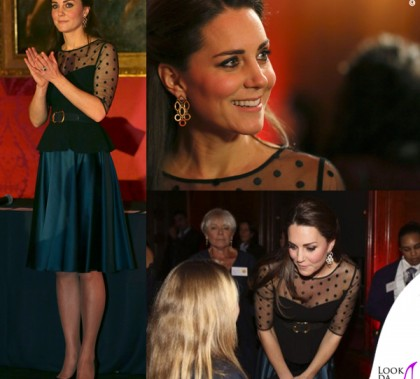 Kate Middleton Child Schools Awards top Hobbs gonna Jenny Packham scarpe Jimmy Choo