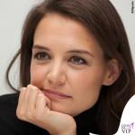 Katie Holmes Miss Meadows gonna tartan Yves Saint Laurent scarpe Isabel Marant 7
