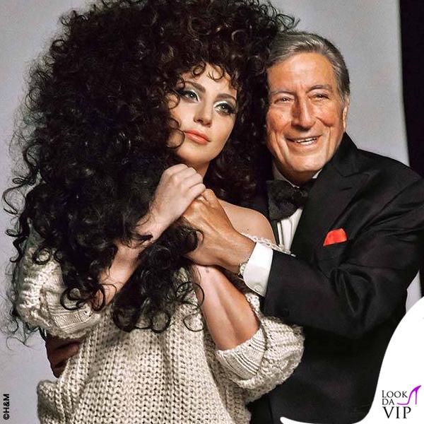 Lady Gaga Tony Bennett H&M 6