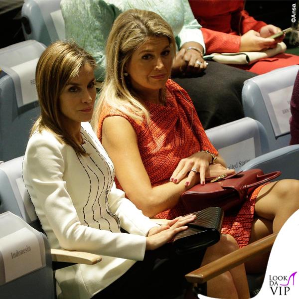 Roma Clio Napolitano Letizia Ortiz abito giacca pochette Felipe Varela 2