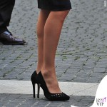 Letizia Ortiz Roma abito giacca pochette Felipe Varela 3