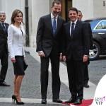 Letizia Ortiz total Felipe Varela Felipe VI Matteo Renzi Roma
