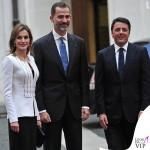 Letizia Ortiz total Felipe Varela Felipe VI Matteo Renzi Roma 3