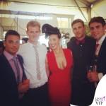 Megan Gale Shaun Hampson Melbourne Cup 2
