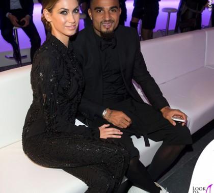 Melissa Satta Kevin Prince Boateng Intouch Awards abito Cavalli sandali Giuseppe Zanotti scarpe Louboutin 4