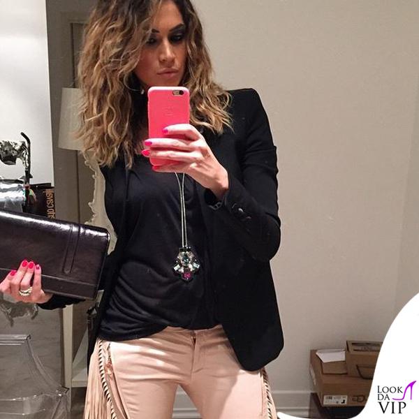 reputable site 65f98 1cbcf Melissa Satta Surdust Swarovski pantaloni Just Cavalli ...