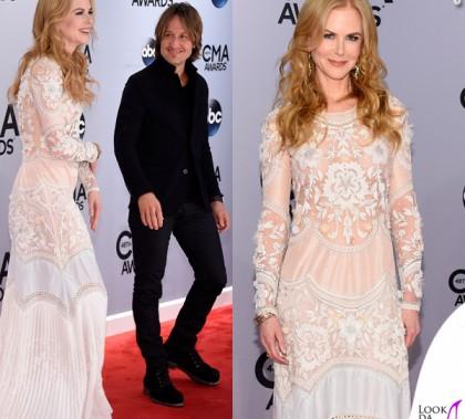 CMA Awards Nashville Nicole Kidman abito Roberto Cavalli Keith Urban 4