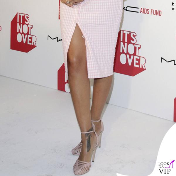 Rihanna It's Not Over premiere tailleur scarpe Altuzarra 4