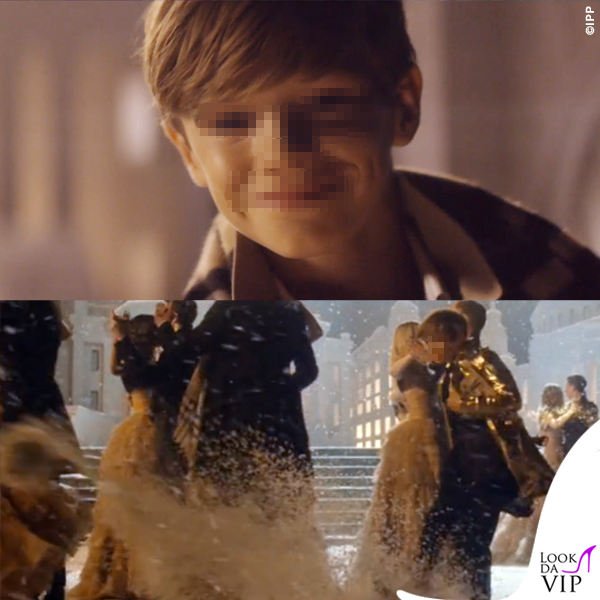 Romeo Beckham Burberry From London with love 4