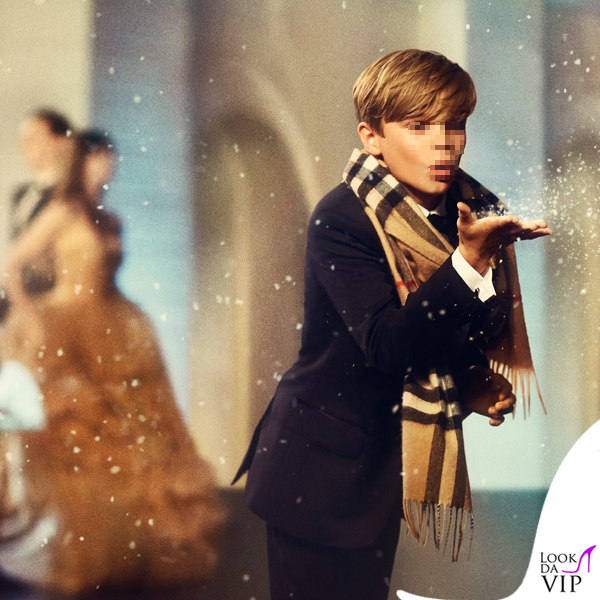 Romeo Beckham Burberry From London with love