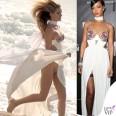Rosie Huntington Rihanna abito Tom Ford