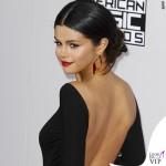 Selena Gomez AMA14 abito Giorgio Armani Privè