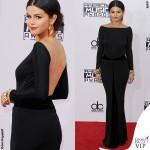 Selena Gomez AMA14 abito Giorgio Armani Privè 2