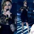 Vanessa Incontrada X Factor abito La Perla