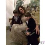 Alena Seredova abito Luisa Beccaria Louis Thomas David Lee Buffon abiti Pinco Pallino 2