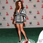 Alessandra Ambrosio Latin Grammy abito Balmain 5