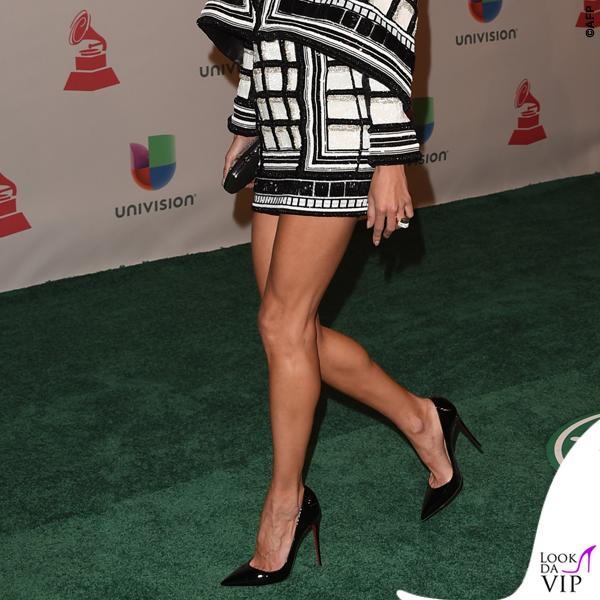 Alessandra Ambrosio Latin Grammy abito Balmain 9