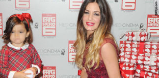 Alessia Fabiani abito Peter Langner 2