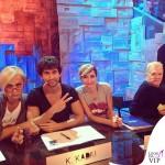 Amici Alessandra Celentano tshirt Tip&Top Kledi Garrison