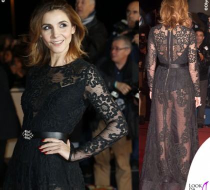 Clotilde Courau NRJ Music Award 2014 abito Elie Saab