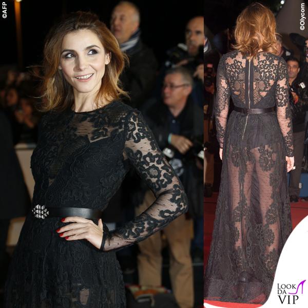 Clotilde Courau NRJ Music Award 2014 abito Elie Saab