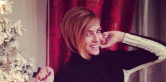 Cristina Chiabotto maglione Falconeri