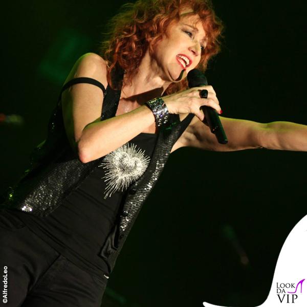 Fiorella Mannoia Live Tour tshirt Antonio Grimaldi 2010