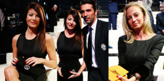 Gran Gala del Calcio Aic Ilaria D'Amico Gigi Buffon Andrea Pirlo Valentina Baldini