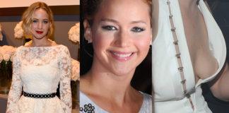 Jennifer Lawrence abiti bianchi